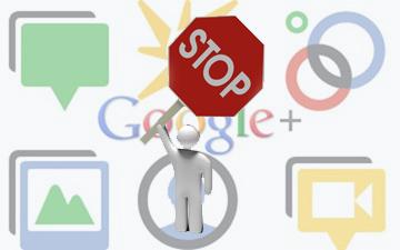 Google-plus закрыт доступ