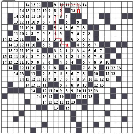 Волновой алгоритм (Алгоритм Ли)