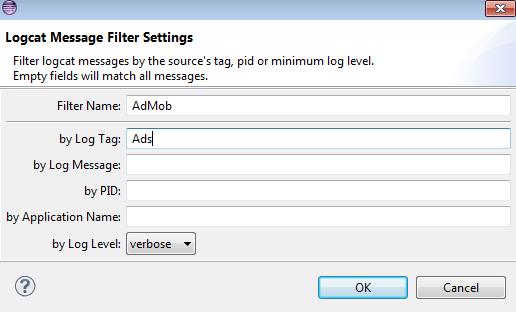 LogCat Filter