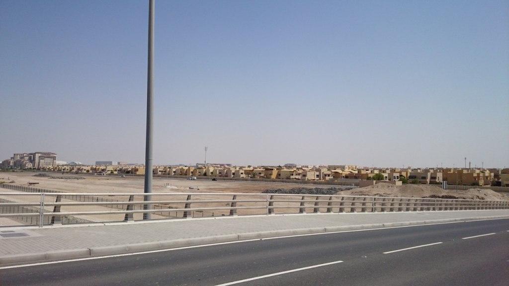 Спальный район Абу-Даби