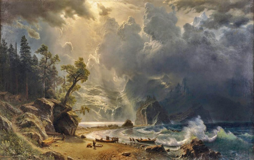 Albert Bierstadt – Puget Sound on the Pacific Coast (1870)