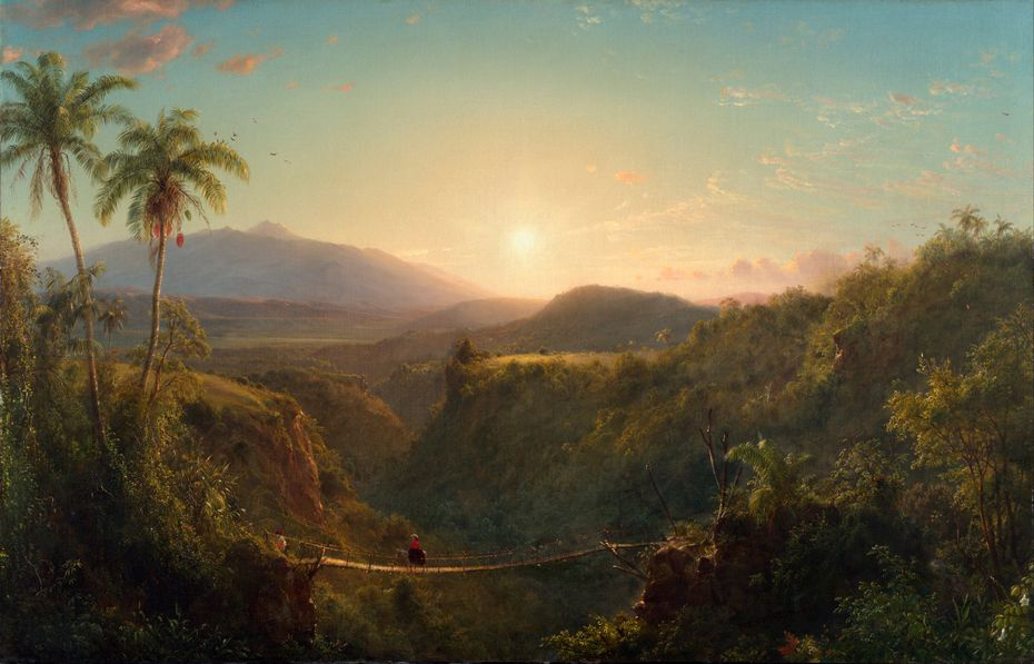Frederic Edwin Church – Tamaca Palms (1854)