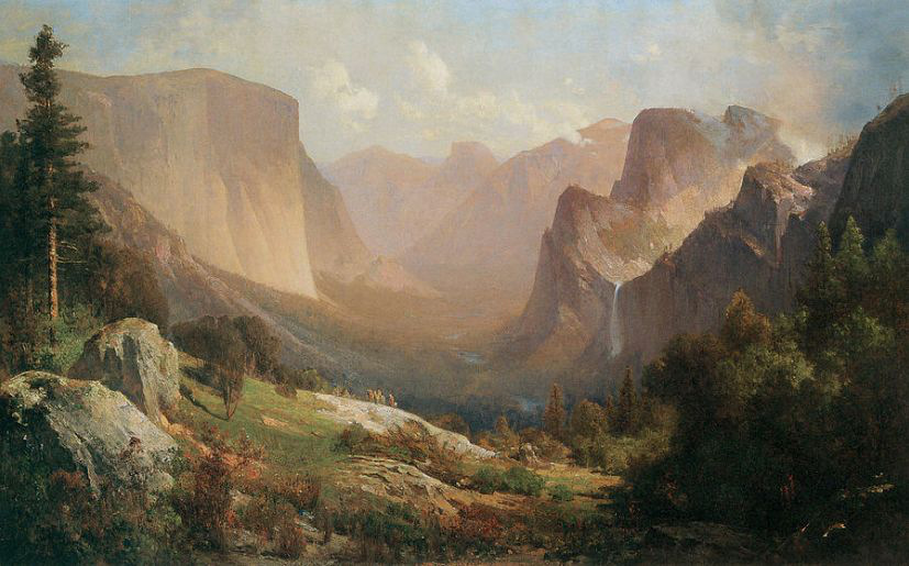 Thomas Hill – View of Yosemite Valley (1871)