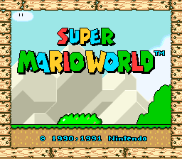 Super Mario World, NTSC