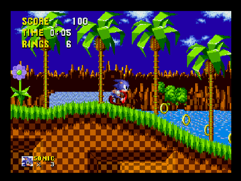 Sonic, the Hedgehog, NTSC