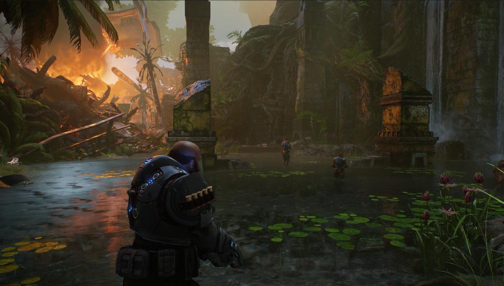 Скриншот из DLC Gears 5 Hivebusters для Xbox Series X